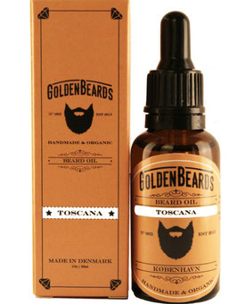 GOLDEN BEARDS OLIO DA BARBA TOSCANA 30ML