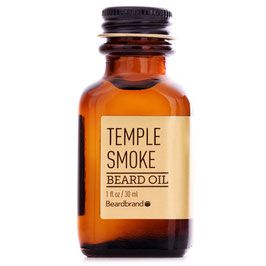 BEARDBRAND GOLD LINE TEMPLE SMOKE OLIO 30ML