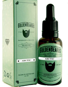 GOLDEN BEARDS OLIO DA BARBA ARTIC
