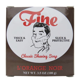 FINE SHAVING SOAP ORANGE NOIR 125GR