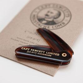 Capt. Fawcett's Pettine per Baffi Richiudibile cm 5,00