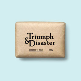 TRIUMPH AND DISASTER SHEARER'S SOAP 130GR