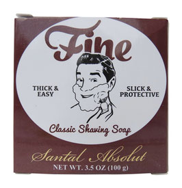 FINE SHAVING SOAP SANTAL ABSOLUT 125 GR
