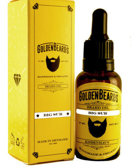 GOLDEN BEARDS OLIO DA BARBA BIG SUR 30ML