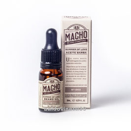 MACHO  SUMMER OF LOVE OLIO DA BARBA  10ML