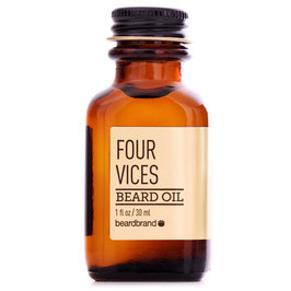 BEARDBRAND GOLD LINE FOUR VICES OLIO 30ML