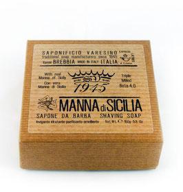 SAPONIFICIO VARESINO SAPONE DA BARBA SOLIDO MANNA DI SICILIA 150GR