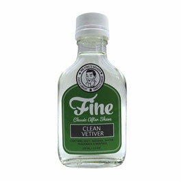 FINE AFTER SHAVE CLEAN VETIVER 100ML