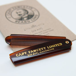 Capt. Fawcett's Pettine per Barba Richiudibile cm 10
