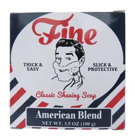 FINE SHAVING SOAP AMERICAN BLEND 125GR