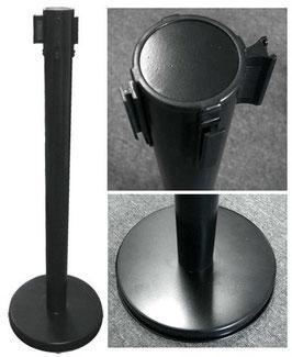 Personenleitsystem Auszuggurt, Stahl schwarz