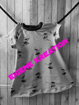 Kleid kurz Arm eigene Kreation 80