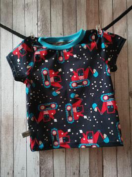 T-Shirt Bagger dunkelblau  74