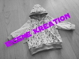 Kapuzenpullover eigene Kreation 68