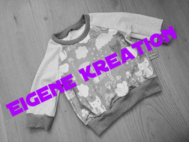 Pullover eigene Kreation 128