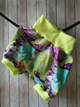 Pumphose kurz Australien Summergirl neongelb 80/92