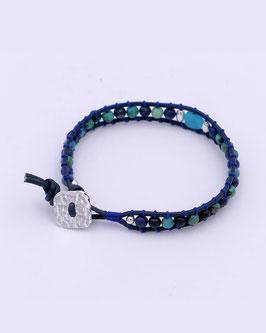 """Bracelet Wrap """"Pacifique"""""""