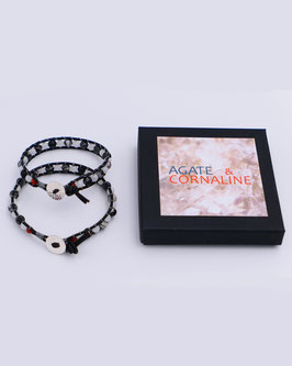 "Bracelet Wrap ""Couple"""