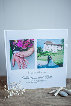 Fotoalbum-Hochzeit