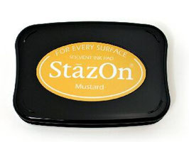 StazOn Ink Pad: Mustard