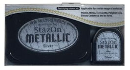 StazOn Metallic: Silver