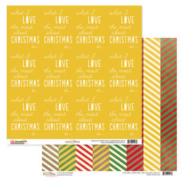 Glitz Design Hello December: Love
