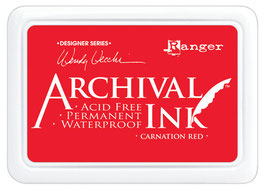 Wendy Vecchi Archival Ink: Carnation Red