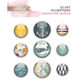 Glitz Design Uncharted Waters Giant Rhinestones