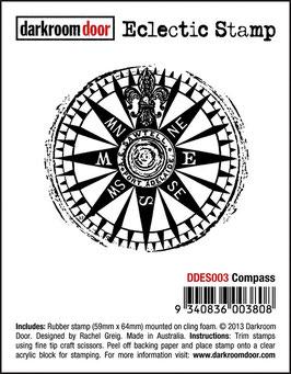 Darkroom Door Eclectic Stamp: Compass