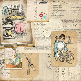 Carta Bella Homemade with Love: Grandma's Recipes