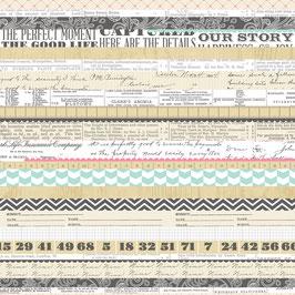 Teresa Collins Family Stories: Multi Stripe