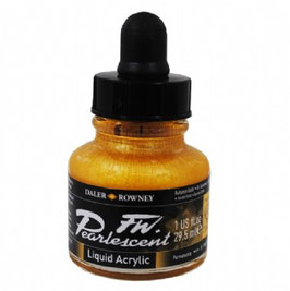 DR Pearlescent Acrylic Ink - Autumn Gold