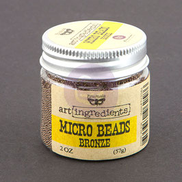 Art Ingredients Micro Beads  - Bronze