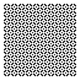 Rhonda Palazzari 6x6 Stencil: TCW397s Dots and Dashes