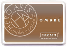 Hero Arts Ombre Ink Pad: Sand to Chocolate