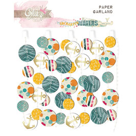 Glitz Design Uncharted Waters Paper Garland