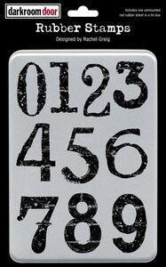 Darkroom Door Stamp Set - Big Numbers