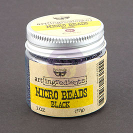 Art Ingredients Micro Beads  - Black