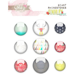 Glitz Design Finnley Giant Rhinestones