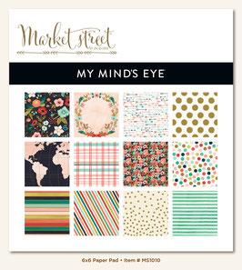 MME Market Street - Ashbury Heights 6x6 Paper Pad