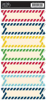 Jenni Bowlin Banner Stickers - Candy Stripe