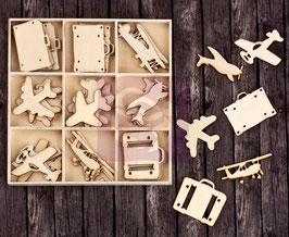 Prima Wood Icons In A Box: Travel