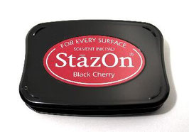 StazOn Ink Pad: Black Cherry