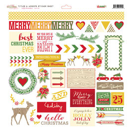Glitz Design Hello December Titles & Accents