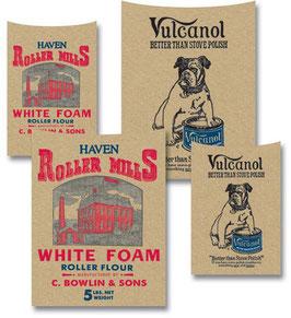 Jenni Blowin Kraft Printed Pockets