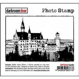 Darkroom Door Photo Stamp: Castle