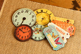 Prima Wood Clocks & Tickets - Zephyr