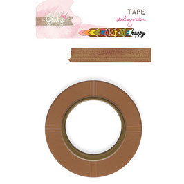 Glitz Design: Color Me Happy Washi Tape - Woodgrain