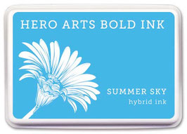 Hero Arts Bold Ink Pad: Summer Sky