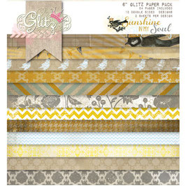 Glitz Design Sunshine In My Soul 6x6 Paper Pad